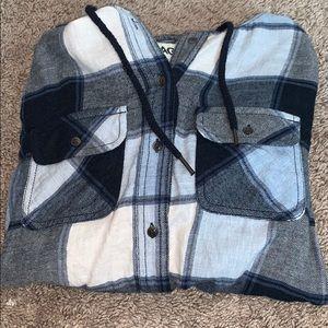 Garage Hooded Flannel